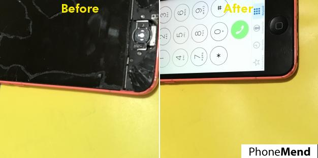 iPhone 5c Screen & Home Button Repair in Hemel Hempstead