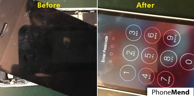 iPhone 5c Screen Replacement in Norwich