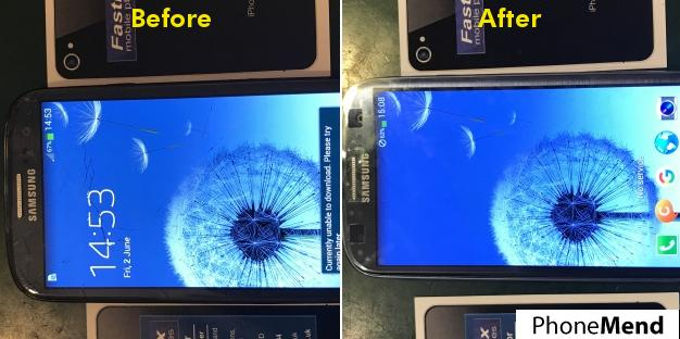 Samsung Galaxy S3 Screen Repair in Norwich